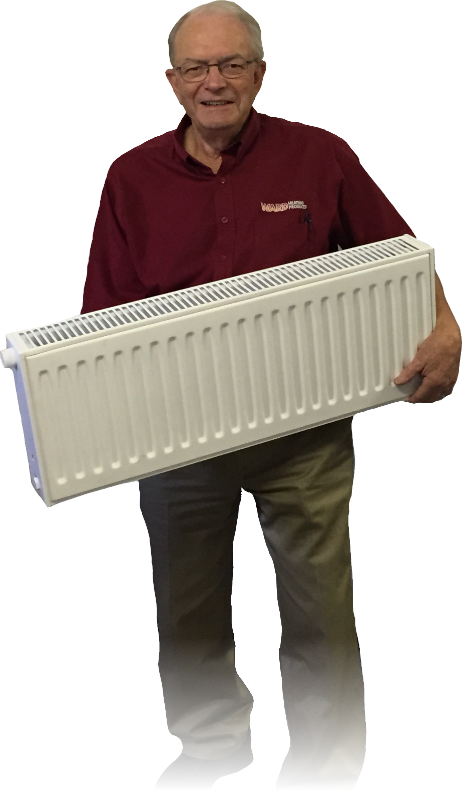 Tom with Ecostyle Radiator