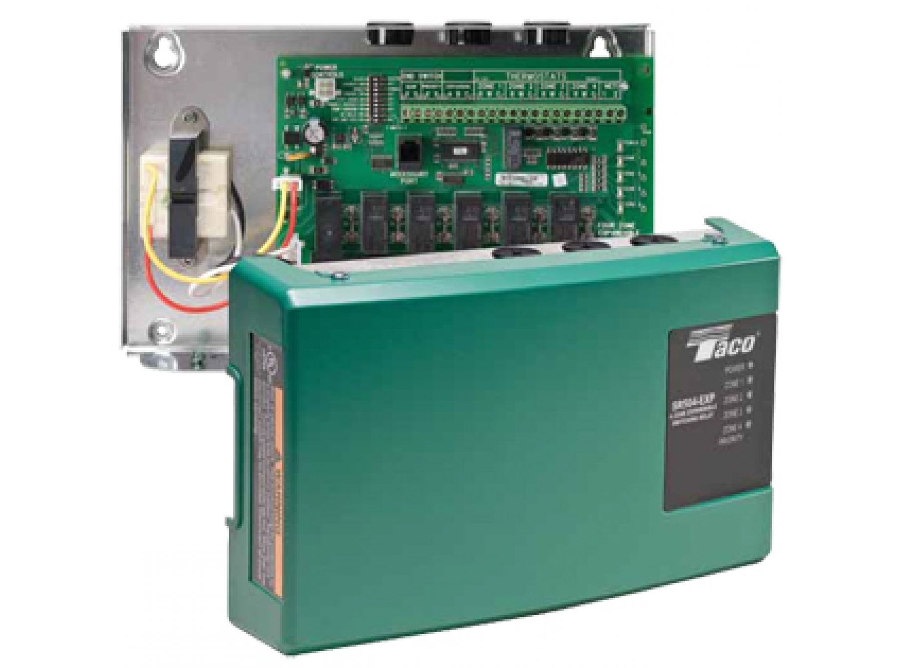 6 Zone Switching Relaytaco Sr506 Wiring Diagram 25 Taco Expandable Relay Relays Available In Canada Ward Heating